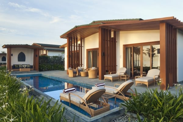 Beachfront Pool Villa 1 Bedroom at Movenpick Resort Cam Ranh