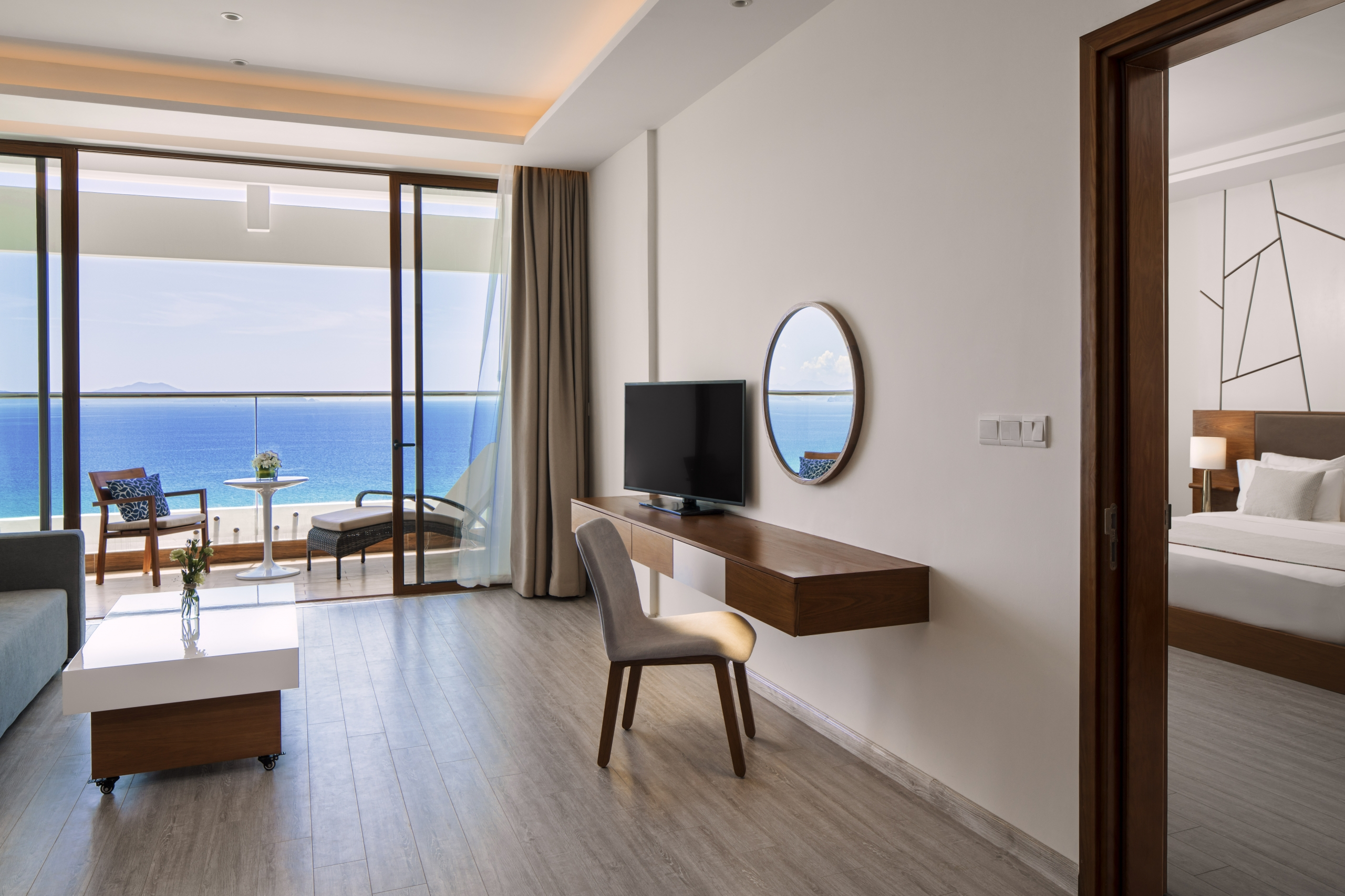 Studio Interconnected Seaview at Movenpick Resort Cam Ranh