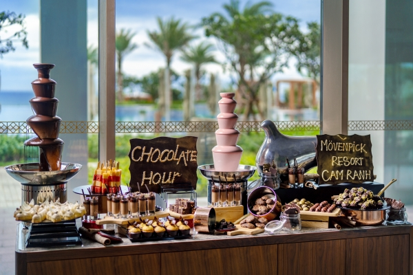 Chocolate Hour at Movenpick Resort Cam Ranh