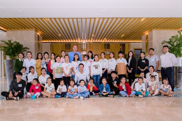 Soap for Hope at Movenpick Resort Cam Ranh